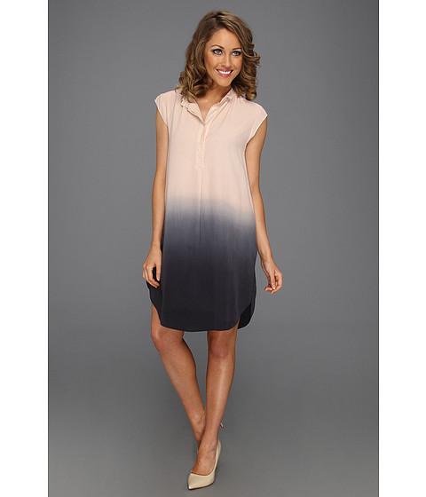 Cheap Rebecca Taylor Ombre Shift Dress Blue