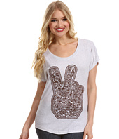Obey - Dirty Peace Fingers Tri-Blend Dolman Tee