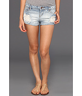 Obey - Leather And Lace Shortie Short
