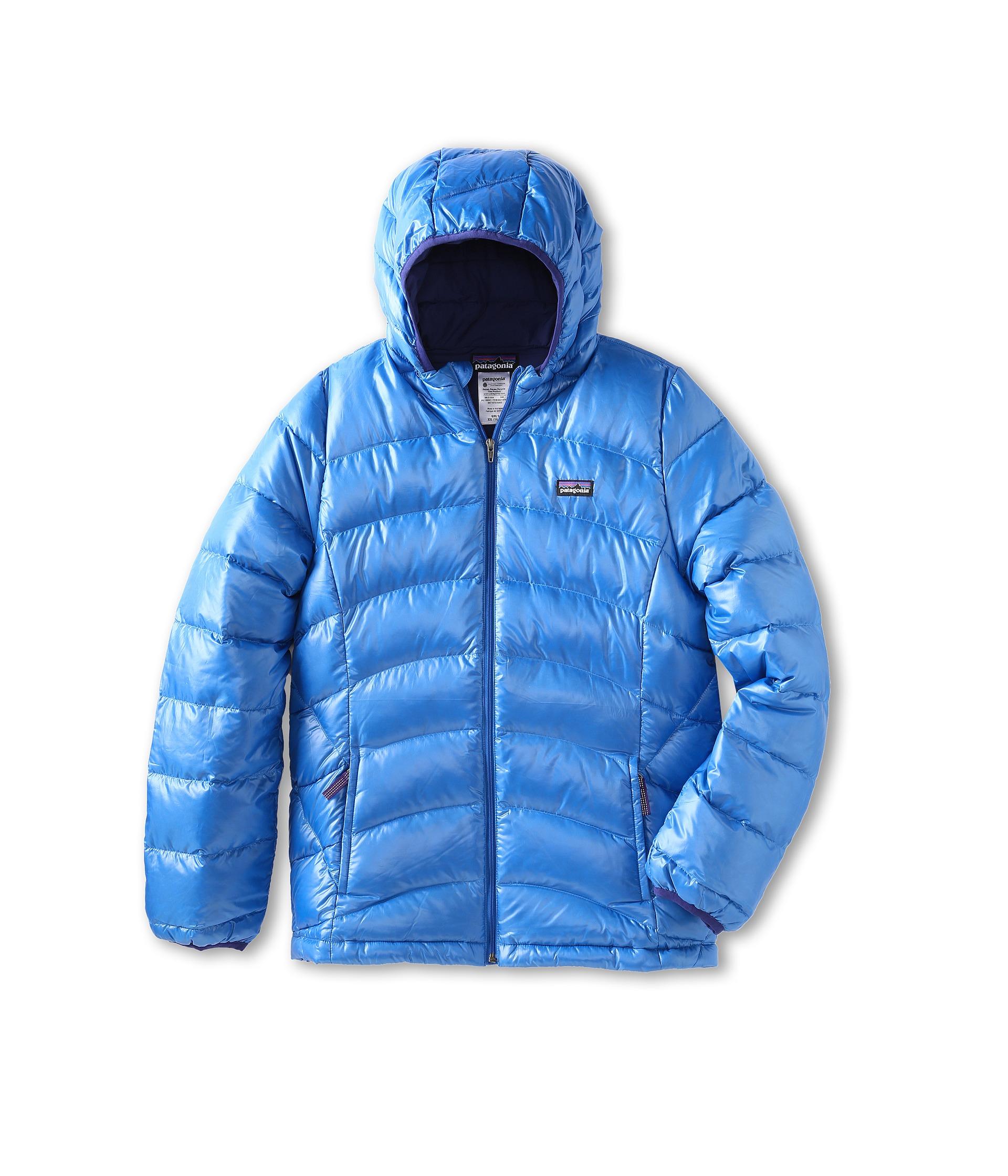 Patagonia Kids Girls Hi Loft Down Sweater Hoody Little Kidsbig