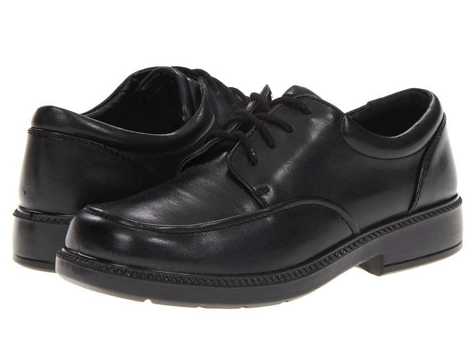 School Issue Brooklyn (Little Kid/Big Kid) (Black Smooth) Boys Shoes