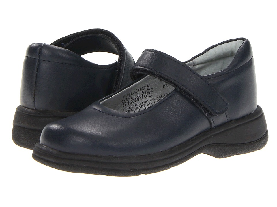 School Issue Prodigy Toddler/Little Kid/Big Kid Dark Navy Leather Girls Shoes