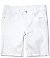 Joe's Jeans Kids - Girls' Cut Off Bermuda Short in Optical White (Little Kids/Big Kids)