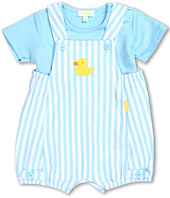 le top - Just Ducky Stripe Sunsuit and Shirt (Infant)