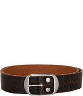 Lucky Brand - Nepal Black Vintage Embossed Belt