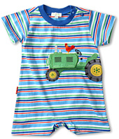 le top - Down on the Farm Stripe Romper (Infant)