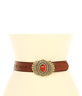 Lucky Brand - Kate Stone Plaque Embossed Belt
