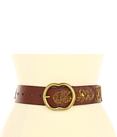 Lucky Brand - Nadya Floral Metallic Embroidery Belt