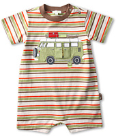 le top - Happy Camper Stripe Romper (Infant)
