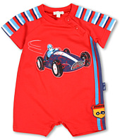 le top - Zoom! Romper w/ Stripe Piecing (Infant)