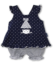 le top - Anchors Aweigh Dot Suntop and Mini Stripe Bloomer (Infant)