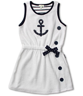 le top - Anchors Aweigh Terry Cover-Up Dress (Infant/Toddler/Little Kids)