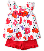 le top - Field of Poppies Top and Shorts (Infant/Toddler/Little Kids)