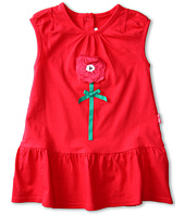 le top - Field of Poppies Beach Dress w/ Ruffle Hem (Infant/Toddler/Little Kids)