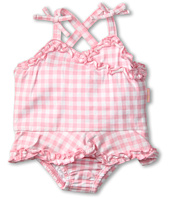 le top - Sunshine & Daisies Gingham Check Skirted Swimsuit w/ Ruching (Infant)