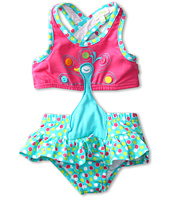 le top - Swirly Girly Peacock Monokini (Infant/Toddler/Little Kids)