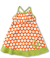 le top - Fancy Free Dot Sundress 3-D Flower (Toddler/Little Kids)