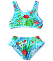 le top - Island Dreams Tankini w/ Cut-Out Back (Toddler/Little Kids)