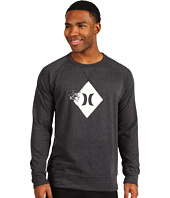 Hurley - Broken Long Sleeve Fleece Tee