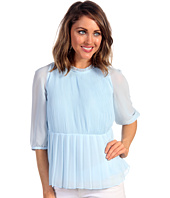 Ted Baker - Ninah Gathered Sleeve Micro Pleat Top