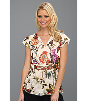 Ted Baker - Evlyn Mid Summer Floral Peplum Top