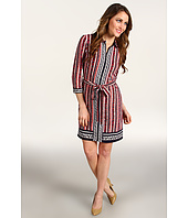 Laundry by Shelli Segal - Mixed Print Shirtdress