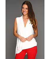 BCBGMAXAZRIA - Cecil Asymmetrical Sleeveless Top