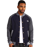 Crooks & Castles - Wavy Crooks Baseball Jacket
