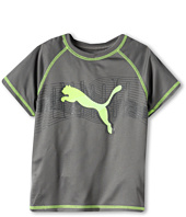 Puma Kids - Linear Cell Dry Wicking Cat Tee (Little Kids)