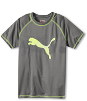 Puma Kids - Linear Cell Dry Wicking Cat Tee (Big Kids)