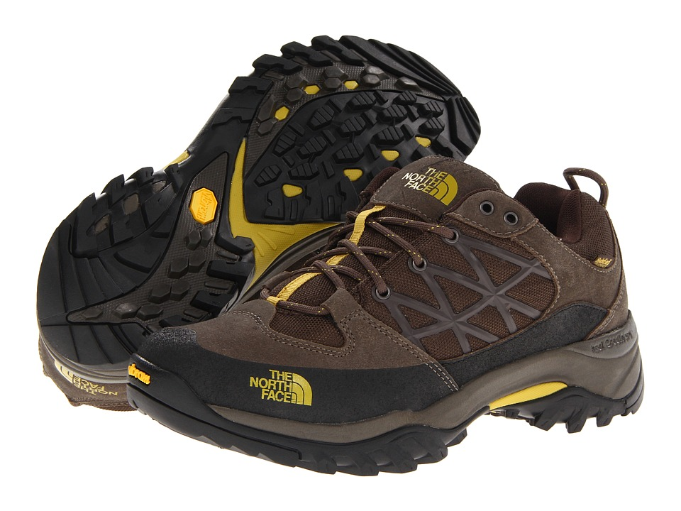 The North Face - Storm WP (Coffee Brown/Antique Moss Green) Men