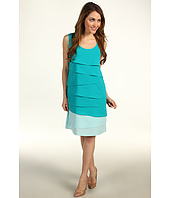 Calvin Klein - Tiered Colorblock Shift Dress