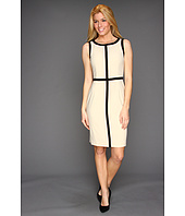 Calvin Klein - Sheath Dress with Contrast Trim