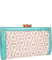 Nine West - Hexagon 9 Straw Clutch