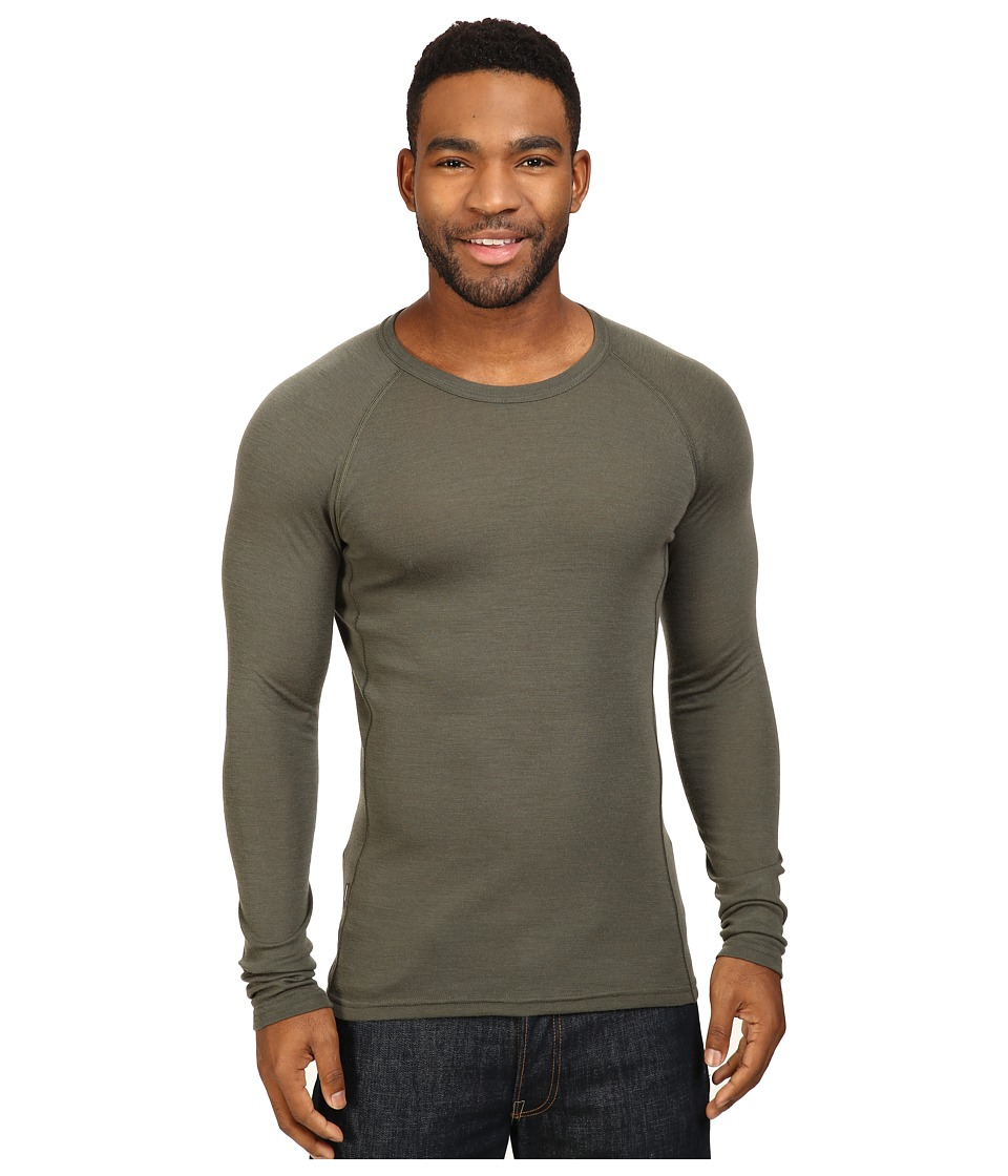 Icebreaker Everyday Light Weight Merino Long Sleeve Crewe (Cargo) Men
