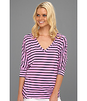 Splendid - Miami Stripe V-Neck Top
