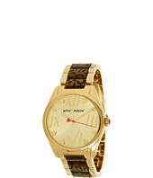Betsey Johnson - BJ00105-02 Analog Leopard Printed Bracelet Watch