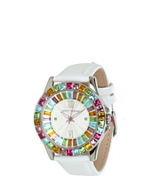 Betsey Johnson - BJ00004-18 Analog Multi-Colored Crystals Watch