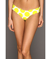 Vitamin A Silver Swimwear - Rio Ruffle Scoop Bikini Bottom