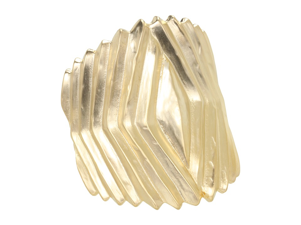 Kenneth Jay Lane - 1554BSG (Satin Gold) Bracelet