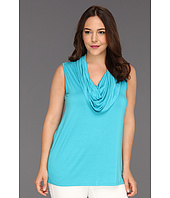 Karen Kane Plus - Plus Size Sleeveless Cowl Neck Top