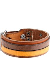 Fossil - Casual Vintage Leather Bracelet