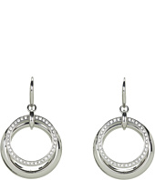 Fossil - Classic Glitz Pave Tear Drop Earrings