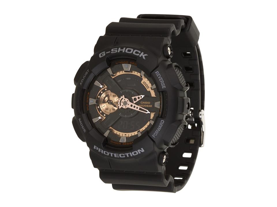 Casio X-Large Combi GA110 (Black/Rose Gold) Digital Watches