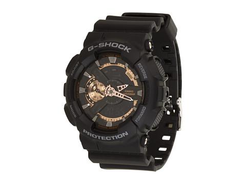 G-Shock X-Large Combi GA110 - Black/Rose Gold
