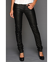 G-Star - 5620 Ski Mix Skinny Raw Pleather in Black