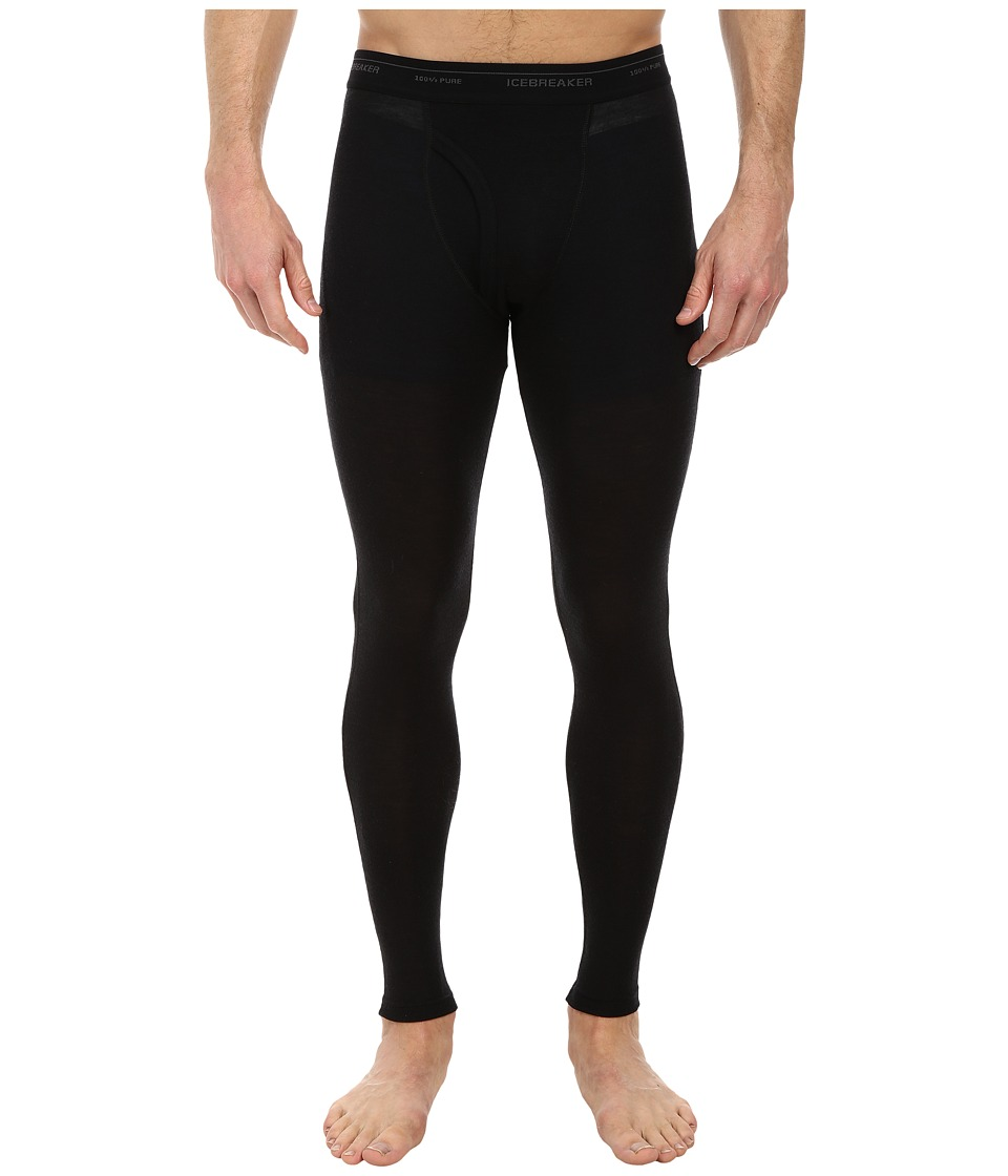 Icebreaker Everyday Leggings w Fly (Black) Men