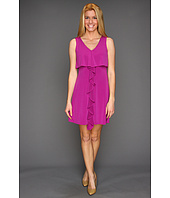 Jessica Simpson - Sleeveless Dress w/ Cascading Ruffle