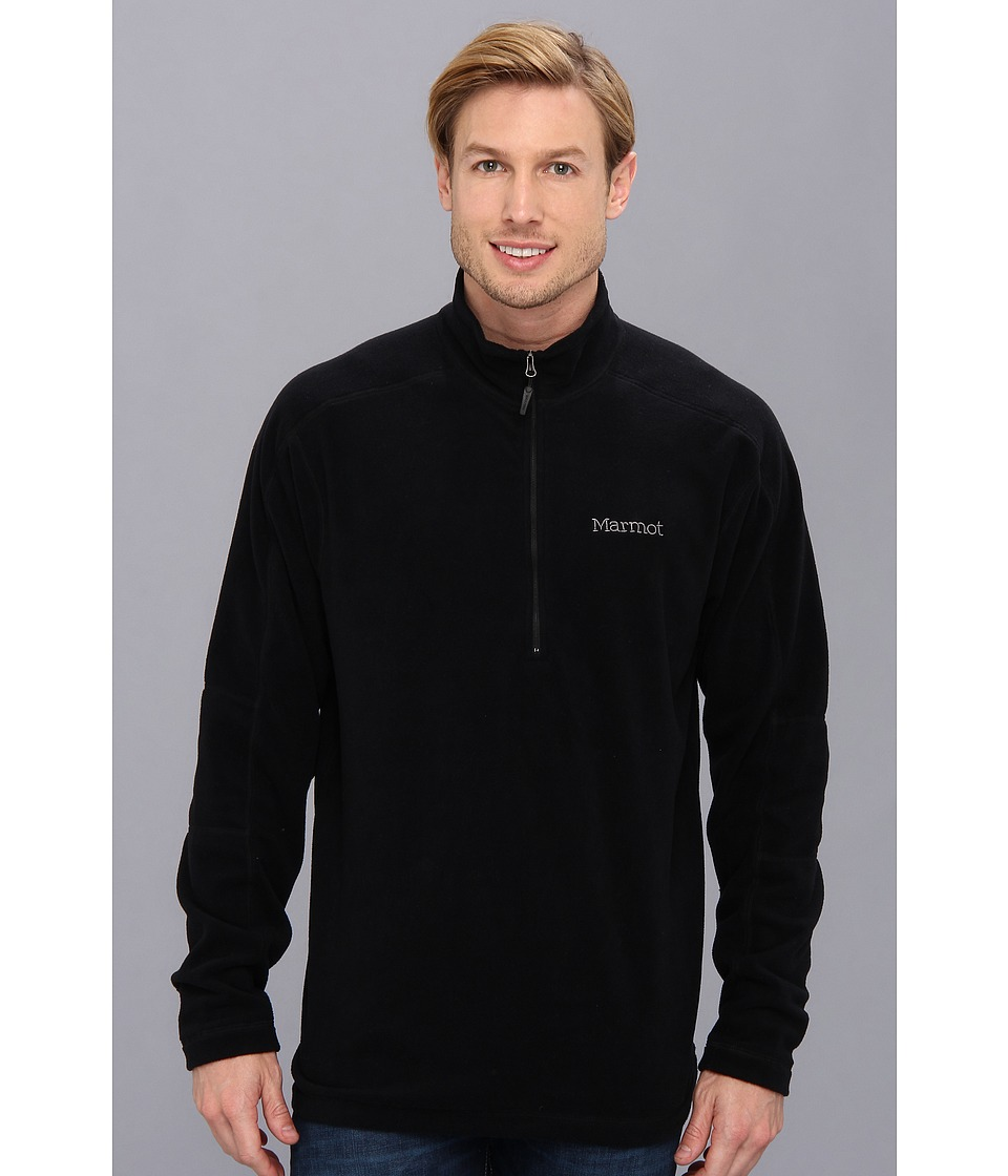 Marmot - Rocklin 1/2 Zip (Black) Mens Sweatshirt
