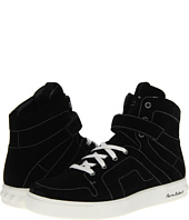 Pierre Balmain - Coated Contrast High Top Trainer